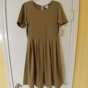 NWT FALL LULAROE AMELIA DRESS XL